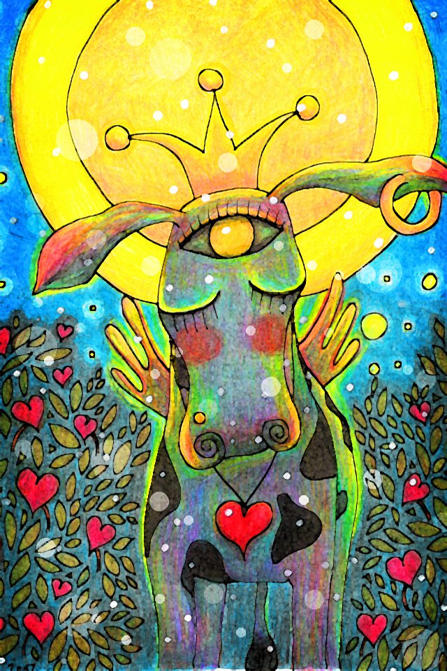 The Universal Cow of Love by O'Lea