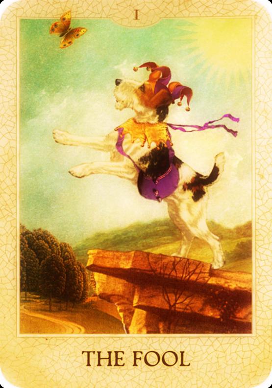 I The Fool - The Original Dog Tarot