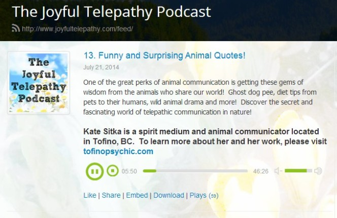 animal quotes podcast