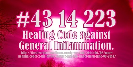 general inflammation healing code