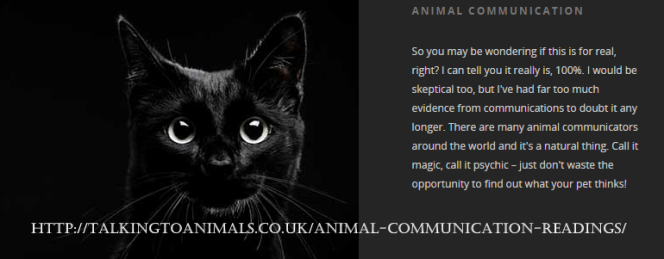 animal readings uk