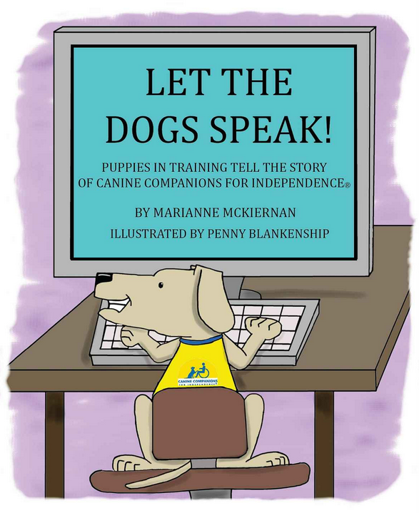 service dogs speak