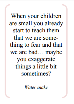 water snake wisdom from PSW